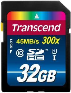 Transcend SDHC UHS-I Premium 32GB