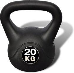 VidaXL Kettlebell 20 kg