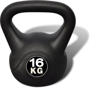 VidaXL Kettlebell 16 kg