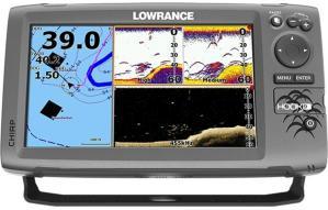 Lowrance Hook 9 Kombi Ekkolodd