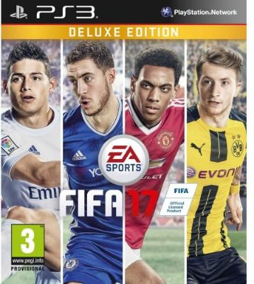 FIFA 17 Deluxe Edition til PlayStation 3
