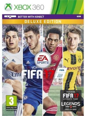 FIFA 17 Deluxe Edition til Xbox 360
