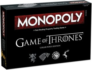 Monopol Game of Thrones Collector's Edition