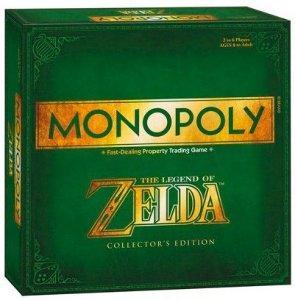 Monopol Legend of Zelda CE Collectors Edition