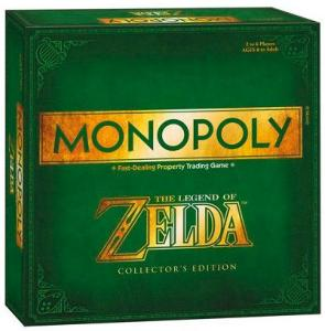 Monopol Legend of Zelda CE Collectors Edition