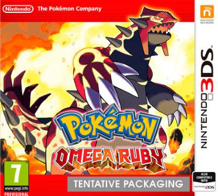 Pokémon Omega Ruby til 3DS