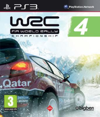 WRC FIA World Rally Championship 4	 til PlayStation 3
