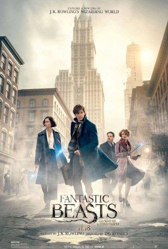 Warner Bros Pictures Fabeldyr og hvor de er å finne