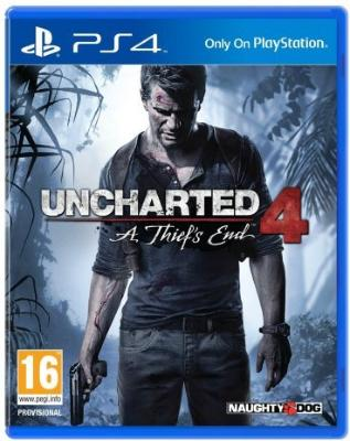 Uncharted 4: A Thief's End til Playstation 4