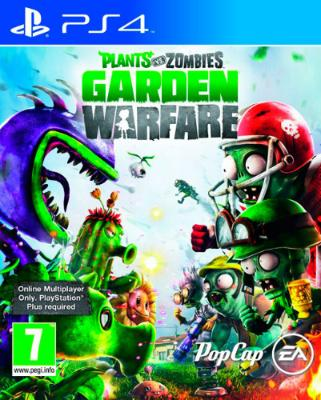 Plants vs. Zombies: Garden Warfare til Playstation 4