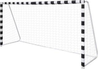 VidaXL Fotballmål Stål 300 x 90 160 cm
