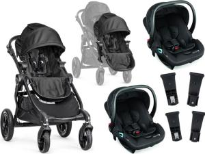 Baby Jogger City Select Single + Baby Jogger Tvillingpakke