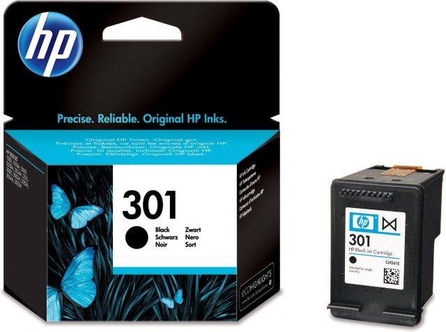 HP 301 Svart (Erstatter)