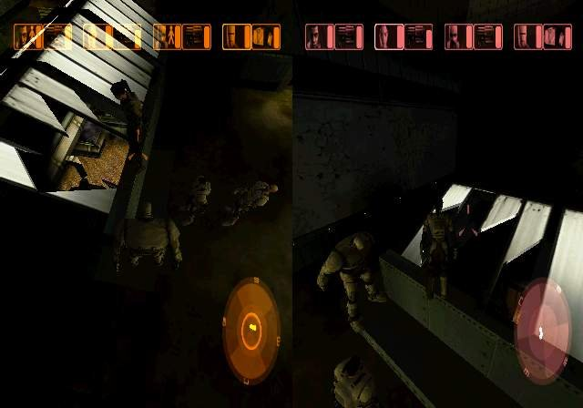 Project Eden til PlayStation 2