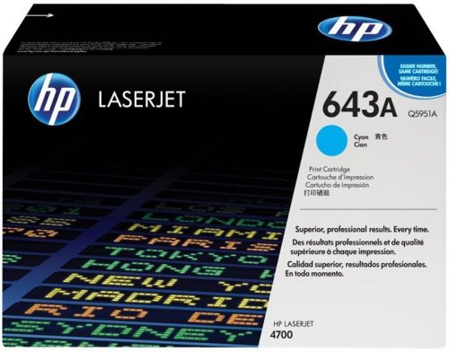 HP Color Laserjet 4700 Cyan