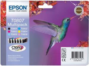 Epson T0807 Quad Pack