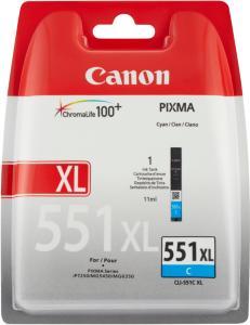 Canon CLI-551XL Blekk Cyan