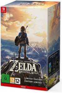 The Legend of Zelda: Breath of the Wild (Limited Edition) til Switch