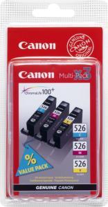 Canon CLI-526C/M/Y
