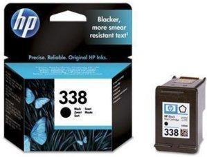 HP no.338 Svart