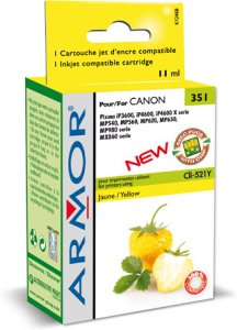 Canon CLI-521Y Gul (Erstatter)