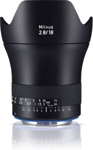 Zeiss Milvus 18mm f/2.8 for Canon