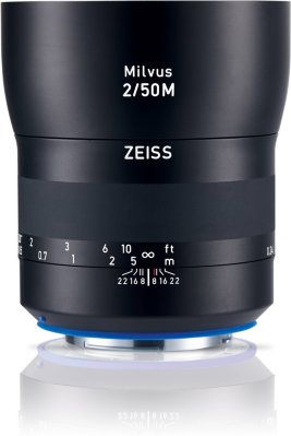 Zeiss Milvus 50mm f/2 for Canon