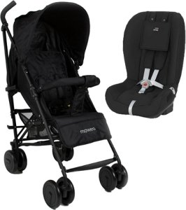 Moweo Civi & Britax Two-Way Paraplytrille