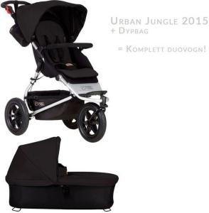 Mountain Buggy Urban Jungle V3 + Dypbag