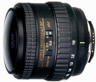Tokina AT-X 10-17mm f/3.5-4.5 DX for Canon