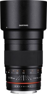 Samyang 135mm f/2.0 ED UMC for mFT
