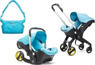 Doona+ Babybilstol med Integrert Vogn + Stelleveske