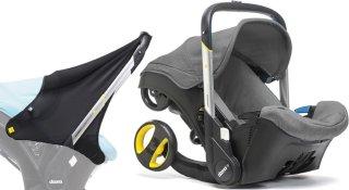Doona+ Babybilstol med Integrert Vogn + Soltrekk