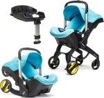 Doona+ Babybilstol med Integrert Vogn + ISOfix-Base