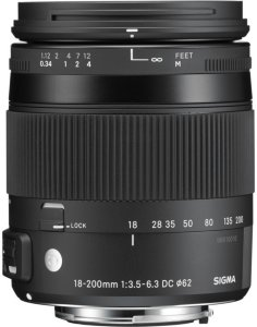 Sigma 18-200mm f/3.5-6.3 DC Macro OS HSM for Nikon