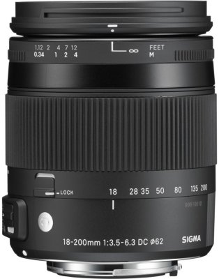 Sigma 18-200mm f/3.5-6.3 DC Macro OS HSM for Pentax