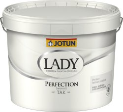 Jotun Takmaling Lady Perfection hvit base (10 liter)