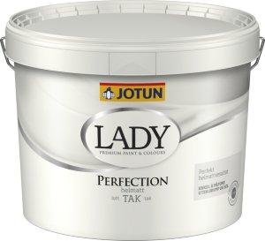 Jotun Takmaling Lady Perfection hvit base (10 liter)
