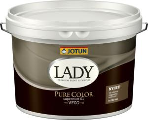 Jotun Lady Pure Color Hvit Base (10 liter)