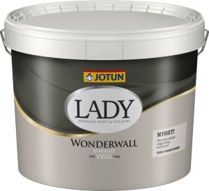 Jotun Lady Wonderwall Hvit Base (10 liter)
