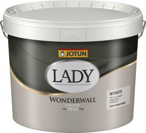 Jotun Lady Wonderwall Hvit Base (10 liter)