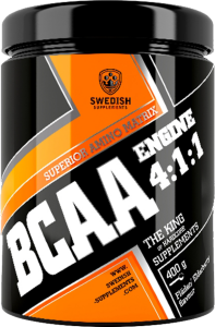 Swedish Supplements BCAA Engine 4:1:1 800g