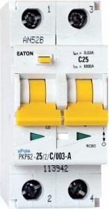 Eaton pkpm2 25a/2pol/30ma-a-variant
