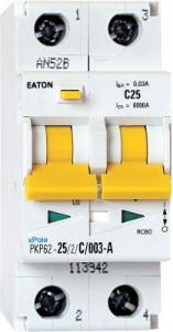 Eaton pkpm2 20a/2pol/30ma-a-variant