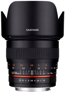 Samyang 50mm f/1.4 AS UMC for Canon