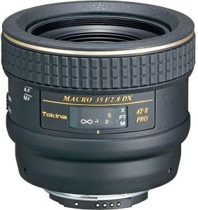 Tokina AT-X Pro 35mm f/2.8 Macro DX for Canon