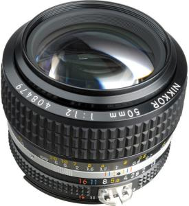 Nikon Nikkor 50mm f/1.2