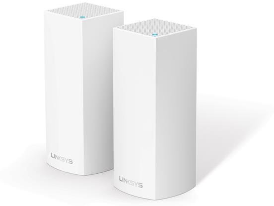 Linksys Velop Whole Home Mesh Wi-Fi System Tri-Band (2-pk)