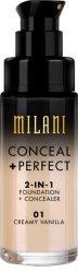 Milani Conceal & Perfect Liquid Foundation