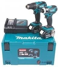 Makita DLX2000MJ Verktøysett (DDF480+DTD129)